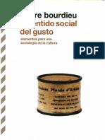 Bourdieu El Sentido Social Del Gusto 10 La Lectura Una Practica Cultural Con Roger Chartier