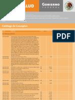 Catalogo de Conceptos Obra Juarez Centro