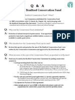 Bradford Conservation Fund, Q & A