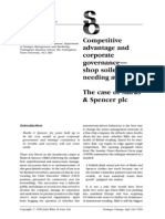 Competitive Advatnage and Corporate Governance - 1999 MS