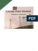 Circular Rotor Windmill (Wind Turbine)