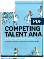 Competing on Talent Analytics