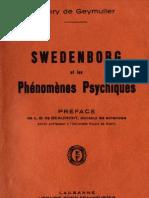 Henry de Geymuller Swedenborg Et Les Phenomenes Psychiques Imprimerie de L'Ere Nouvelle Lausanne 1934