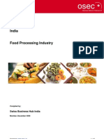 India - Food Processing Industry