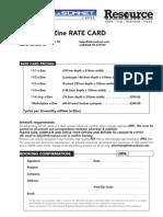 inBroadcast eZine 2012 - ratecard
