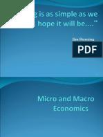 Micro and Macro Economics