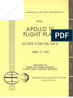 Apollo 10 Final Flight Plan