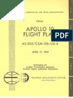 Apollo 10 Final Flight Plan