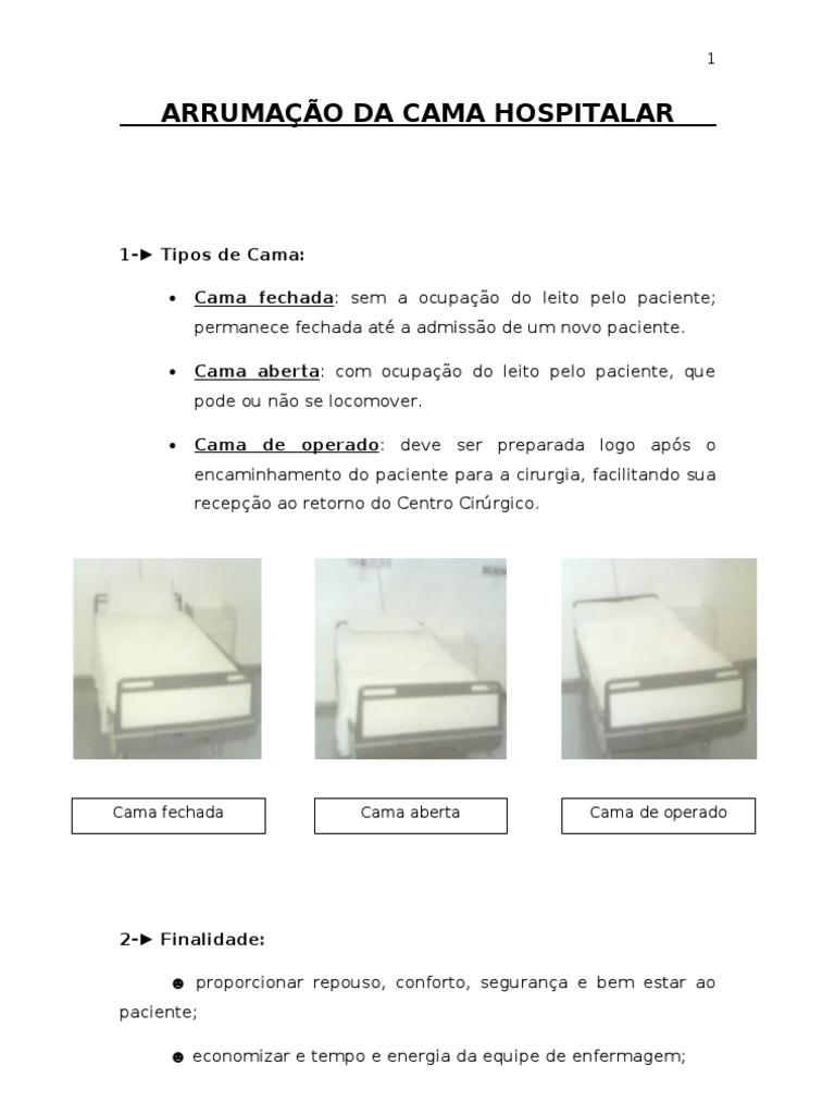10 arruma o da cama hospitalar 1 for Tipos de mobiliario urbano pdf