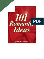 101 ideias românticas dia dos namorados