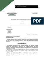 Archivo de Identificacion Genetica Criminal