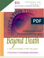 Meditation Times May 2011