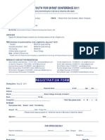 SYC Registration Form