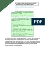 Explicación de la norma OHSAS 18001 2007