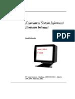 Tutorial Keamanan Sistem Informasi Berbasis Internet