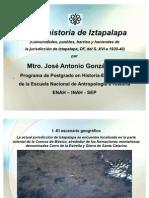 Historia de Iztapalapa, DF (del siglo XVI a 1930/40)