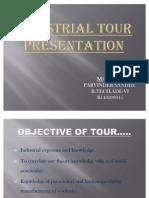 Industrial Tour Ppt