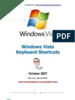 Vista Keyboard Shortcuts