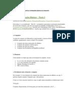 1. CONJUNTOS, SUBCONJUNTOS E OPERAÇÕES BÁSICAS DE CONJUNTO