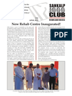 Sankalp Newsletter - April 2011
