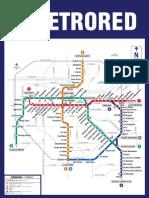 Plano Metro Red Servicios