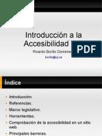 Introducción a la Accesibilidad Web