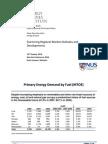 Regional Market Outlook Energy Studies Institute