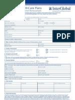 Inter Global Claim Form 2010