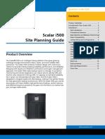 6-01733-04 a Scalari500 Site Planning Guide