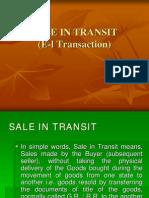 E I Transaction
