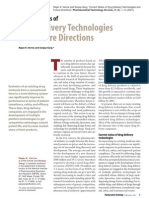 Drug Delivery Technologies and Future Directions