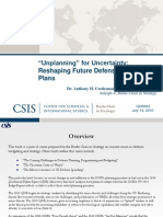 100805 Unplanning for Uncertainty