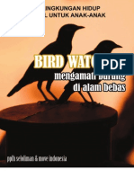Bird Watching Mengamati Burung Di Alam Bebas