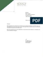 RoyAlp Reference Letter
