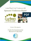 Carbon Map & Cap - Sponsors Report