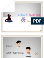 Subject,Predicate&Sentences