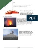 Tipe-Tipe Letusan Gunung API