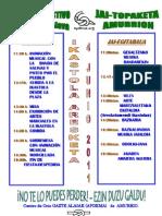 Cartel Fiesta Verano Amurrio -Junio 2011