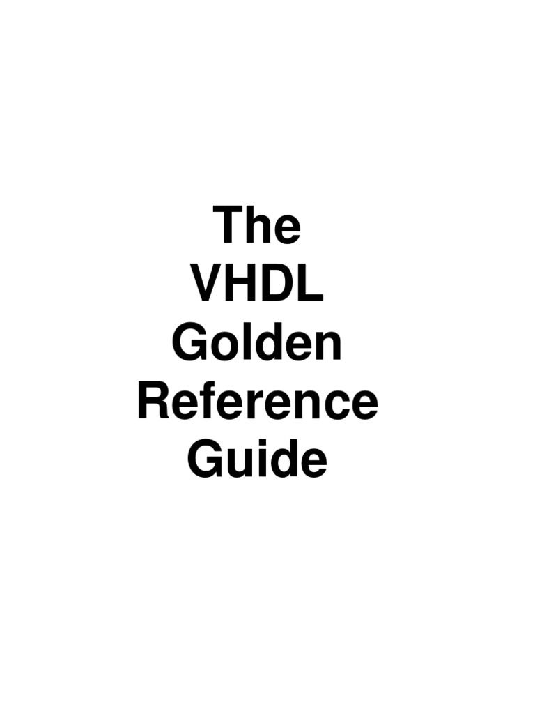 DOULOS GOLDEN REFERENCE GUIDE PDF