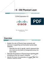 CCNA Exp1 - Chapter08 - OSI Physical Layer