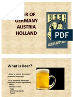 Beers From Holand Ausria