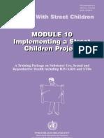 Who Street Children Module10
