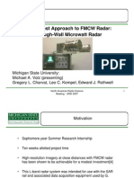 A Low-Cost Approach to FMCW Radar