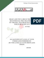 Final Report of Female Entrepreneurship