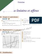Chingatome-Troisième-Fonctions linéaires et affines