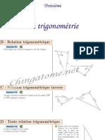 Chingatome-Troisième-La trigonométrie