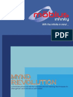 Mobius Infinity Ltd - MYND REVOLUTION Training Brochure
