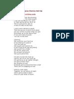 Lirik Lagu Agnes Monica Get Up