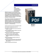 Omron CJ1M CPU Datasheet