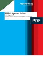 DISCOVER Assessment for Talent Management [EN]